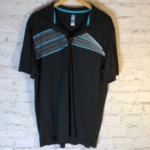 MENS B1G1 TODAY! PGA TOUR XXL AIRFLUX BLACK POLO